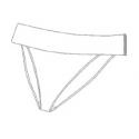 Plavkové kalhotky 892004