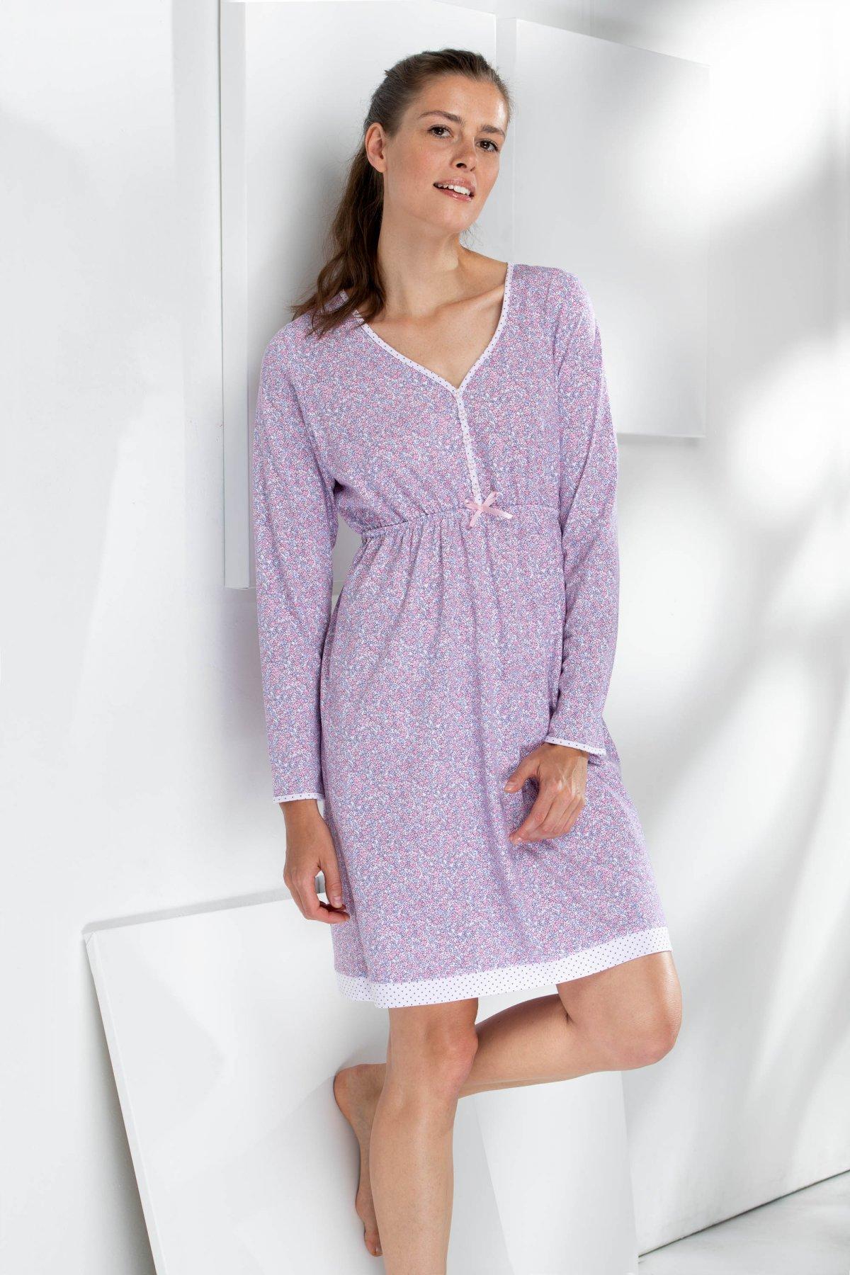 Noční košile s knoflíčky 376005