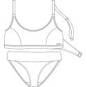 Protetické plavky 612530