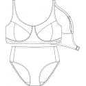 Protetické plavky 610529