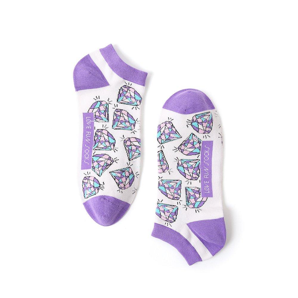 Ponožky Love and Fun nízké DIAMONDS