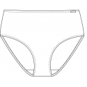 Plavkové kalhotky 892021