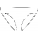 Plavkové kalhotky 892023