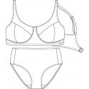 Protetické plavky 610531