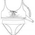 Protetické plavky 610532