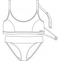 Protetické plavky 612533