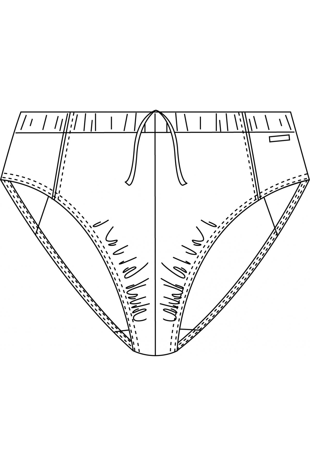 Pánské plavky 890025