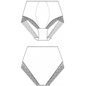 Stahovací kalhotky 132799