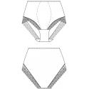 Stahovací kalhotky 132796