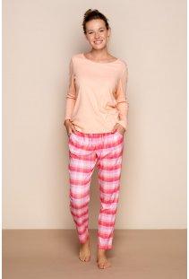 Bavlněné pyžamo Pinky Dreams 340036