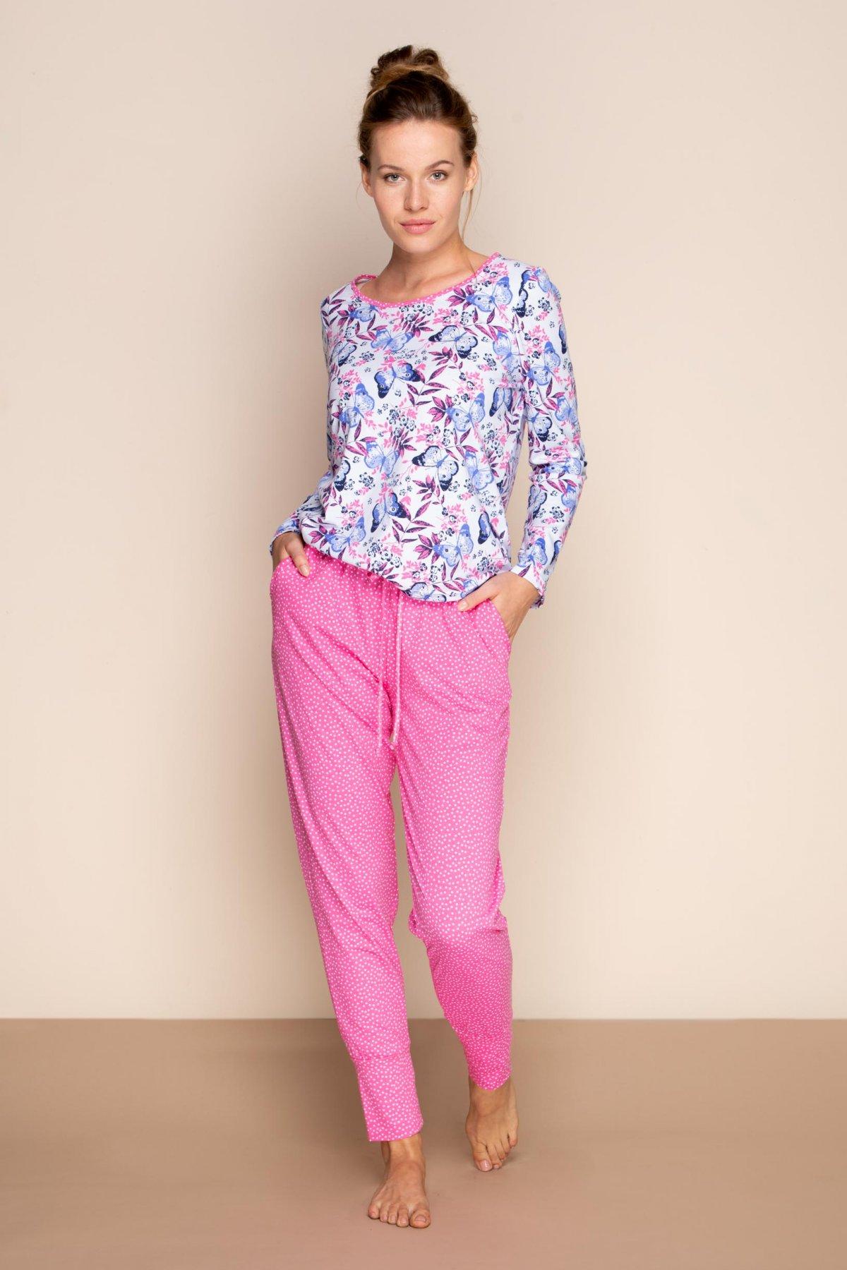 Bavlněné pyžamo Butterfly Effect 342037